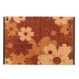 Vintage Brown Daisy Flower Cover For iPad Air
