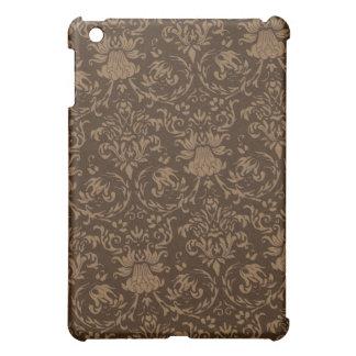 Vintage Brown Damask iPad Skin iPad Mini Cases