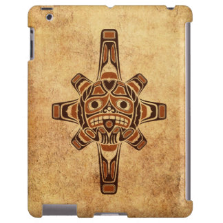 Vintage Brown Haida Sun Mask