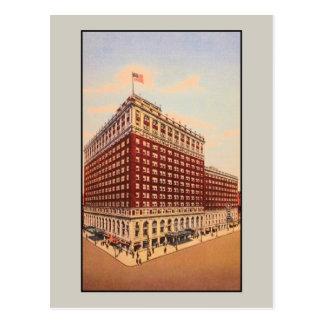 vintage Brown Hotel Louisville Kentucky Postcard