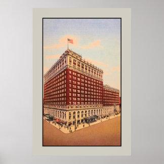vintage Brown Hotel Louisville Kentucky Posters