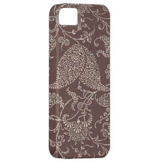 Vintage Brown Paisley Case-Mate iPhone 5 iPhone 5 Covers