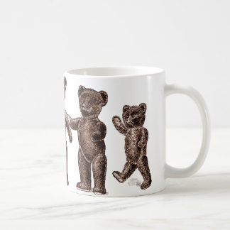 Vintage Brown Teddy Bears Mug