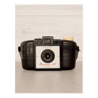 Vintage Brownie 127 Camera Postcard