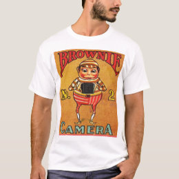 Vintage Brownie Camera Ad T-Shirt