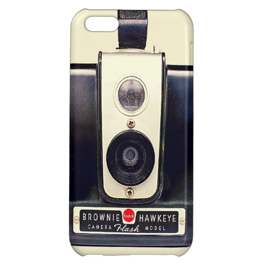 Vintage brownie camera case for iPhone 5C