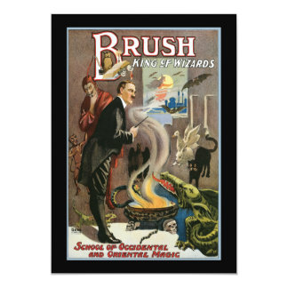 Vintage Brush, King of Wizards 1915 Card