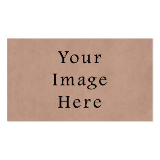 Vintage Buckskin Brown Parchment Paper Background Double-Sided Standard Business Cards (Pack Of 100)