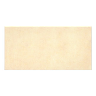 Vintage Buckskin Parchment Tan Brown Antique Paper Card