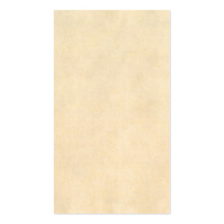 Vintage Buckskin Tan Leather Parchment Template Business Card Templates