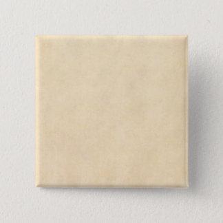Vintage Buckskin Tan Leather Parchment Template Button