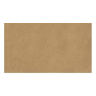 Vintage Buckskin Tan Light Brown Parchment Paper Double-Sided Standard Business Cards (Pack Of 100)