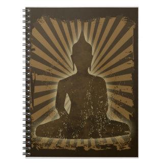 vintage Buda Libro De Apuntes