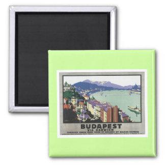 Vintage Budapest Hungary Fridge Magnet
