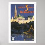 Vintage Budapest Poster