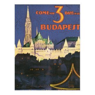 Vintage Budapest Tarjetas Postales