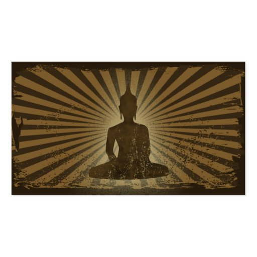 vintage Buddha Business Cards