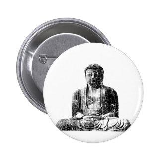 Vintage Buddha Button
