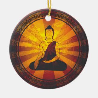 Vintage Buddha Christmas Ornaments