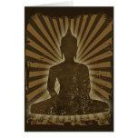 vintage Buddha Greeting Card