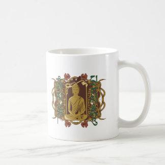 Vintage Buddha Mantra Coffee Mug