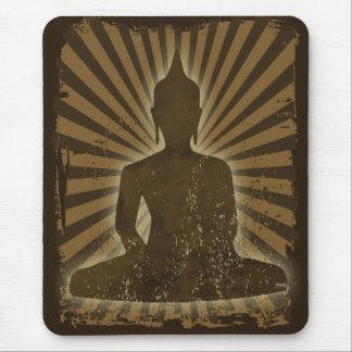 vintage Buddha Mouse Pad