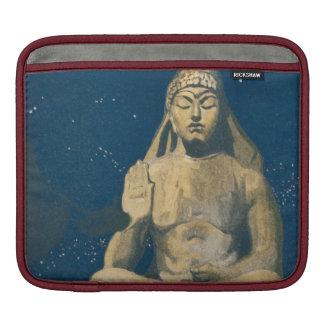Vintage Buddha Night Sky Statue Sleeve For iPads