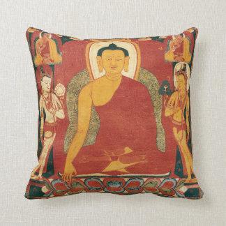 Vintage Buddha Painting Pillows