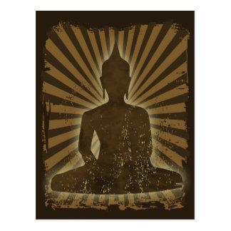 vintage Buddha Postcard