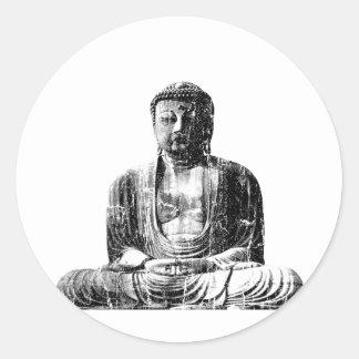 Vintage Buddha Sticker