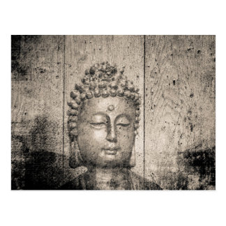 Vintage Buddha Style Postcard