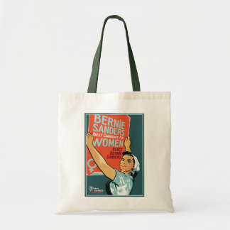 Vintage Budget Tote Women for Bernie