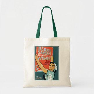 Vintage Budget Tote Women for Bernie