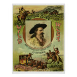 Vintage Buffalo Bill Wild West Show Posters