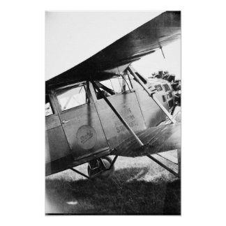 Vintage Buhl Aircraft - Marysville Michigan Poster