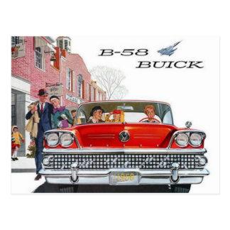 Vintage Buick Ad Postcard
