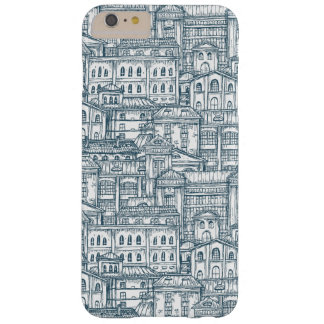Vintage Building Pattern Barely There iPhone 6 Plus Case