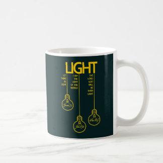 Vintage Bulbs Biblical Light Coffee Mug