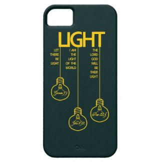Vintage Bulbs Biblical Light iPhone SE/5/5s Case