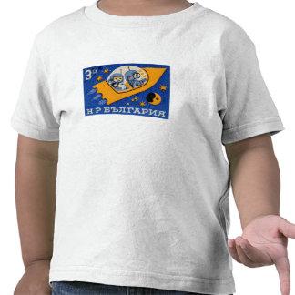 Vintage Bulgaria Bulgarian Rocket Space T-shirt