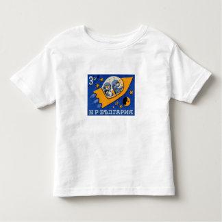 Vintage Bulgaria Bulgarian Rocket Space Toddler T-shirt
