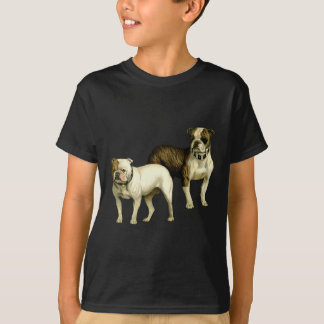 Vintage Bulldog Illustration T-Shirt