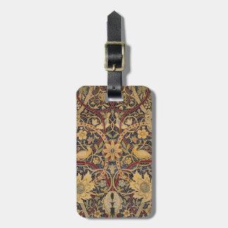 Vintage Bullerswood Tapestry Luggage Tag