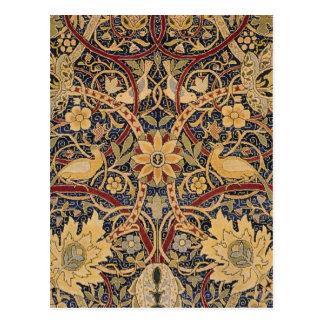 Vintage Bullerswood Tapestry Postcard
