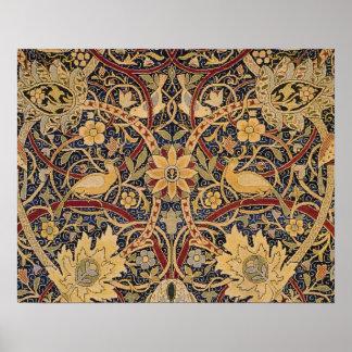 Vintage Bullerswood Tapestry Poster