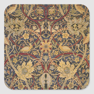 Vintage Bullerswood Tapestry Square Sticker