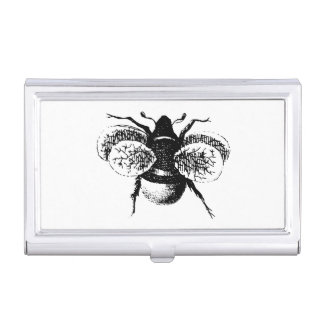 Vintage Bumble Bee Business Card Case