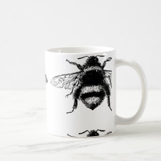 Vintage Bumble bee Coffee Mug