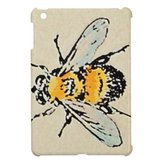 Vintage Bumble Bee iPad Mini Case