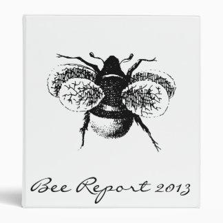Vintage Bumblebee Binder